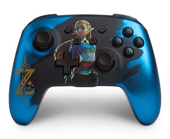 "Nintendo Switch Wireless Controller- ""Blue Zelda"" @ Amazon"