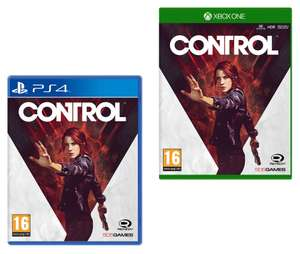 Control (PS4 / Xbox One) for £24.99 @ Smyths