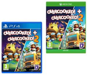 Overcooked! + Overcooked! 2 (PS4 / Xbox One) for £14.99 @ Game