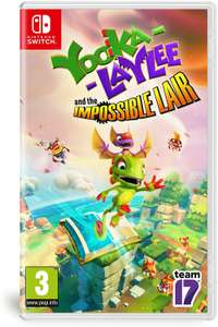 Yooka-Laylee and The Impossible Lair (Nintendo Switch) - £19.99 delivered or Xbox One - £14.99 @ Game