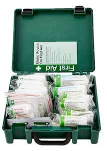 HSE Standard 20 Person Workplace First Aid Kit £9.99 (Prime) £14.48 (Non-Prime) @ Amazon