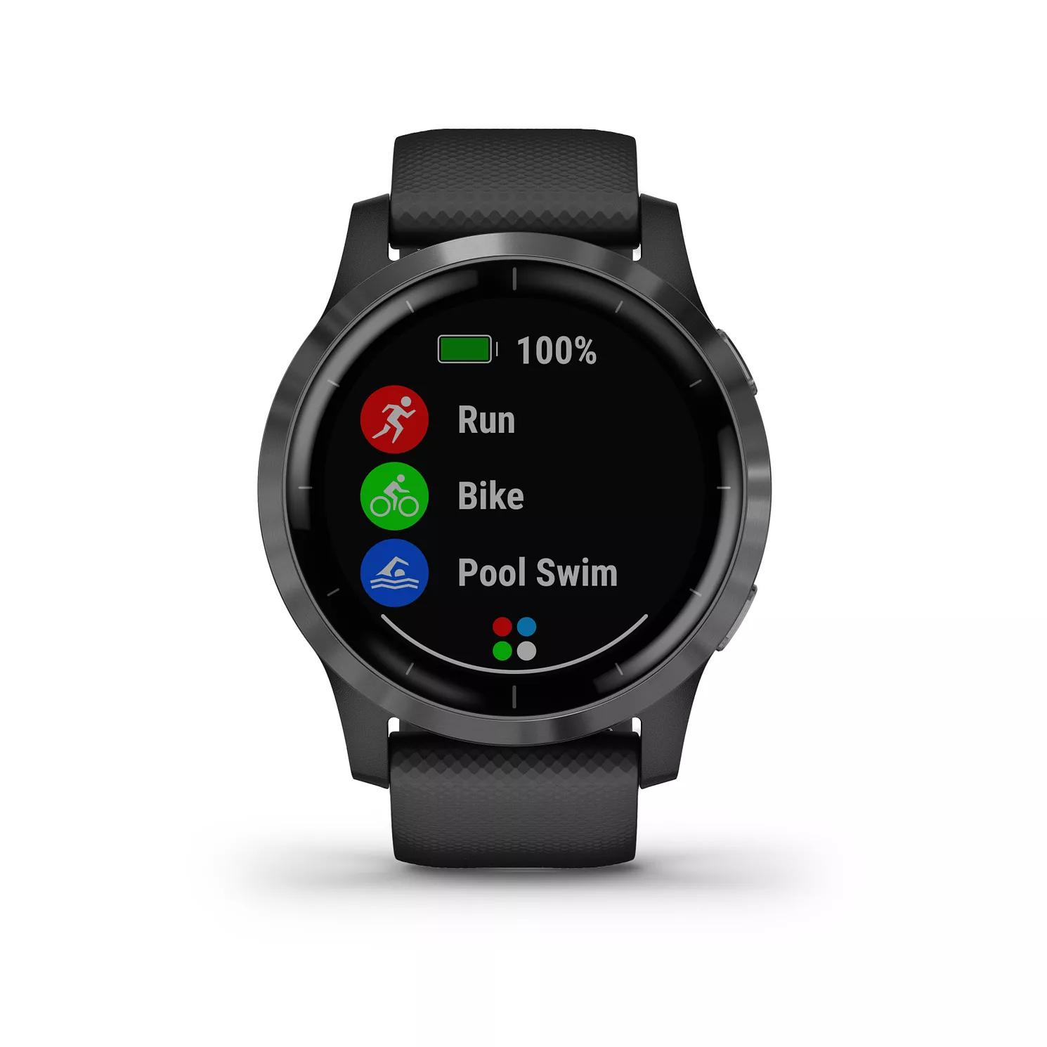 Garmin Vivoactive 4 Black Silicone Strap Smartwatch £223.99 H Samuel (discount shown in basket)