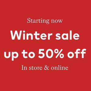 Up to 50% off Sale + 4% Quidco + Free C&C or Delivery at H&M members