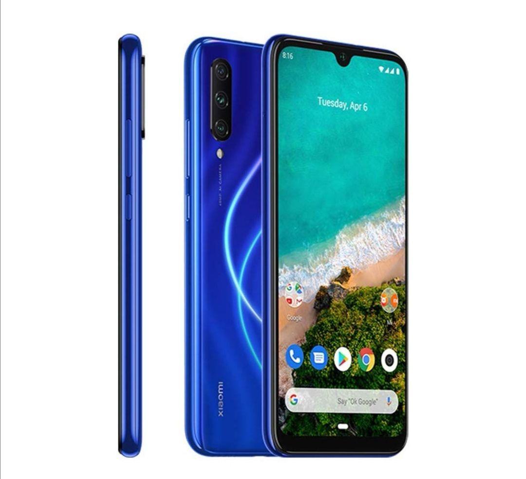 Xiaomi Mi A3 4G 128GB 4GB RAM Dual-SIM Blue EU £169.99 @ Amazon