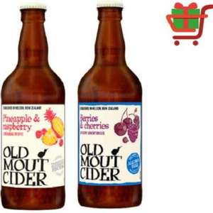 2 Free Old Mout ciders via Checkout Smart - £2.39 each at One Stop plus in 3 for £5 deal