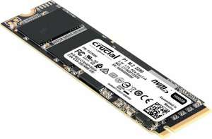 Crucial P1 1TB 3D NAND NVMe PCIe M.2 SSD for £91.70 delivered @ Ebuyer Express eBay