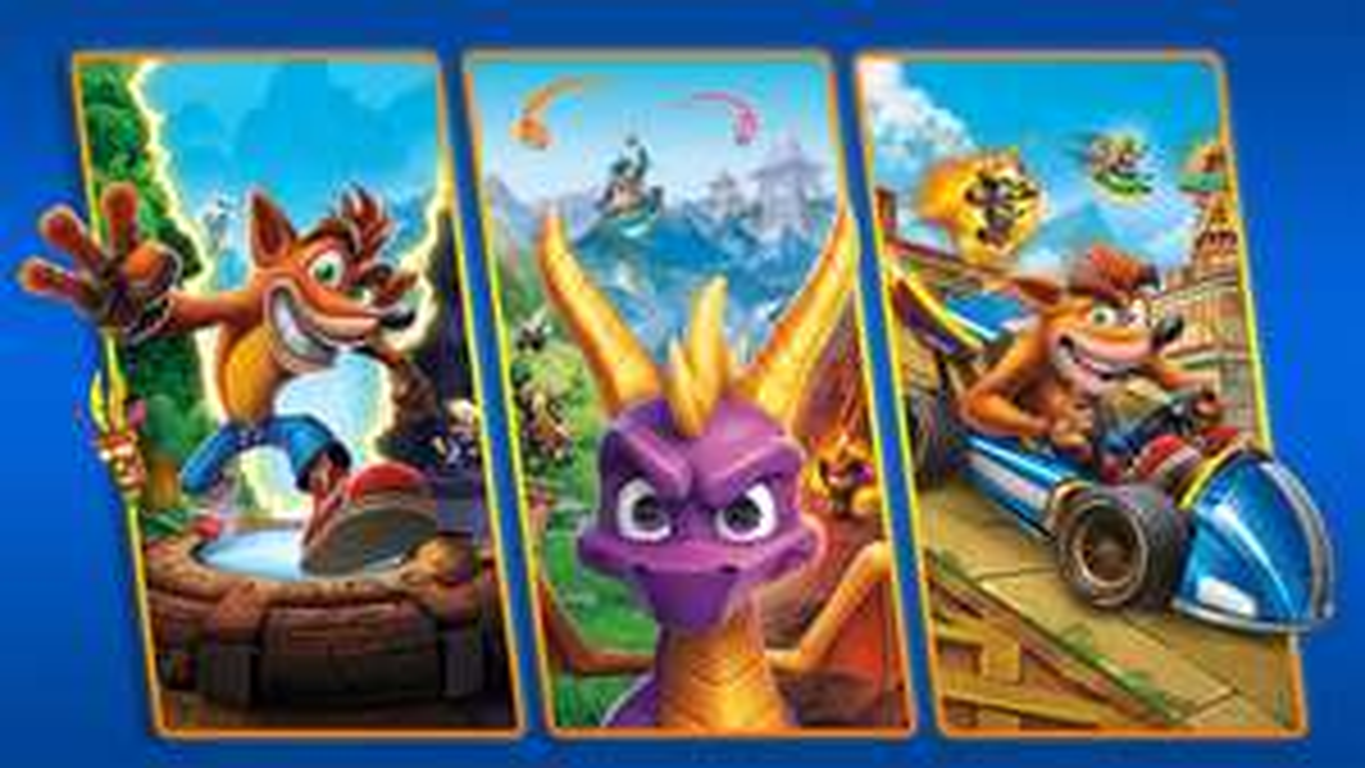Crash + Spyro Triple Play Bundle (Xbox One) - £51 @ Microsoft