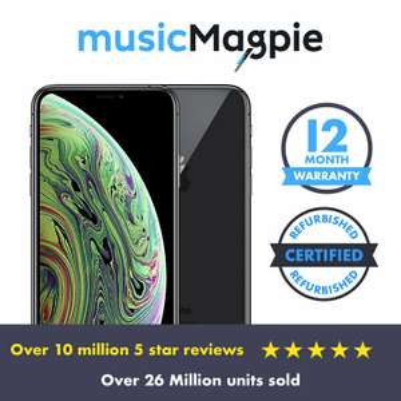 Apple iPhone XS Max - 64GB Space Grey (Vodafone - Refurb - Good) £429.99 using code @ MusicMagpie eBay