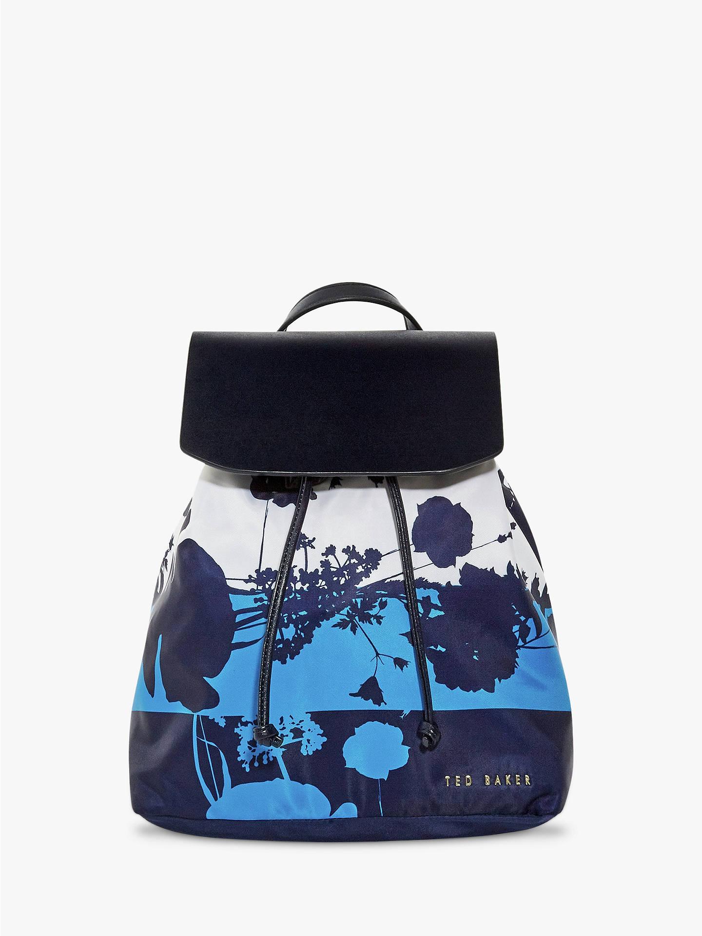 Ted Baker Amarily Drawstring Backpack, Dark Blue £39.50 @ John Lewis & Partners + Free C&C