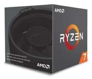 AMD Ryzen 7 2700 3.2GHz Octa Core AM4 CPU £127.90 @ CCL/ebay-with code
