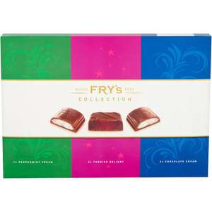 Fry's Collection Chocolate Selection Box 249g only £1 in Heron Foods