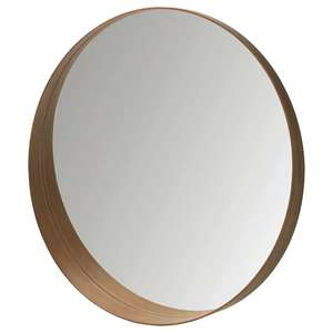 Stockholm Mirror, Walnut Veneer, 80cm for £50 @ IKEA online / instore