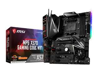 MSI MPG X570 GAMING EDGE WIFI Motherboard for AMD AM4 CPUs £155.33 at CCL/ebay with code