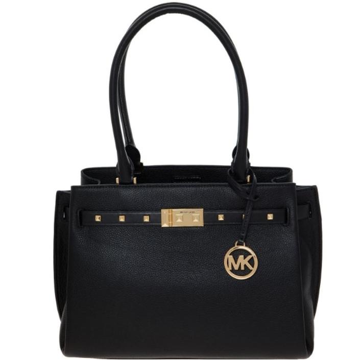 Michael Kors Black Studded Tote Bag now £129.99 delivered @TK Maxx