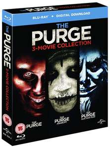 The Purge - 3 Movie Collection [Blu-ray] £5.99 (£8.98 without Prime) @ Amazon.co.uk