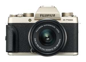 Fujifilm X-T100 with XC 15-45mm Kit All finishes £296.65 ebay / cameracentreuk