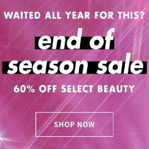 e.l.f end f season Sale - 60% off select beauty