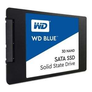 WD Blue 3D NAND Internal SSD 2.5 Inch SATA - 1 TB £82.70 @ Ebuyer eBay