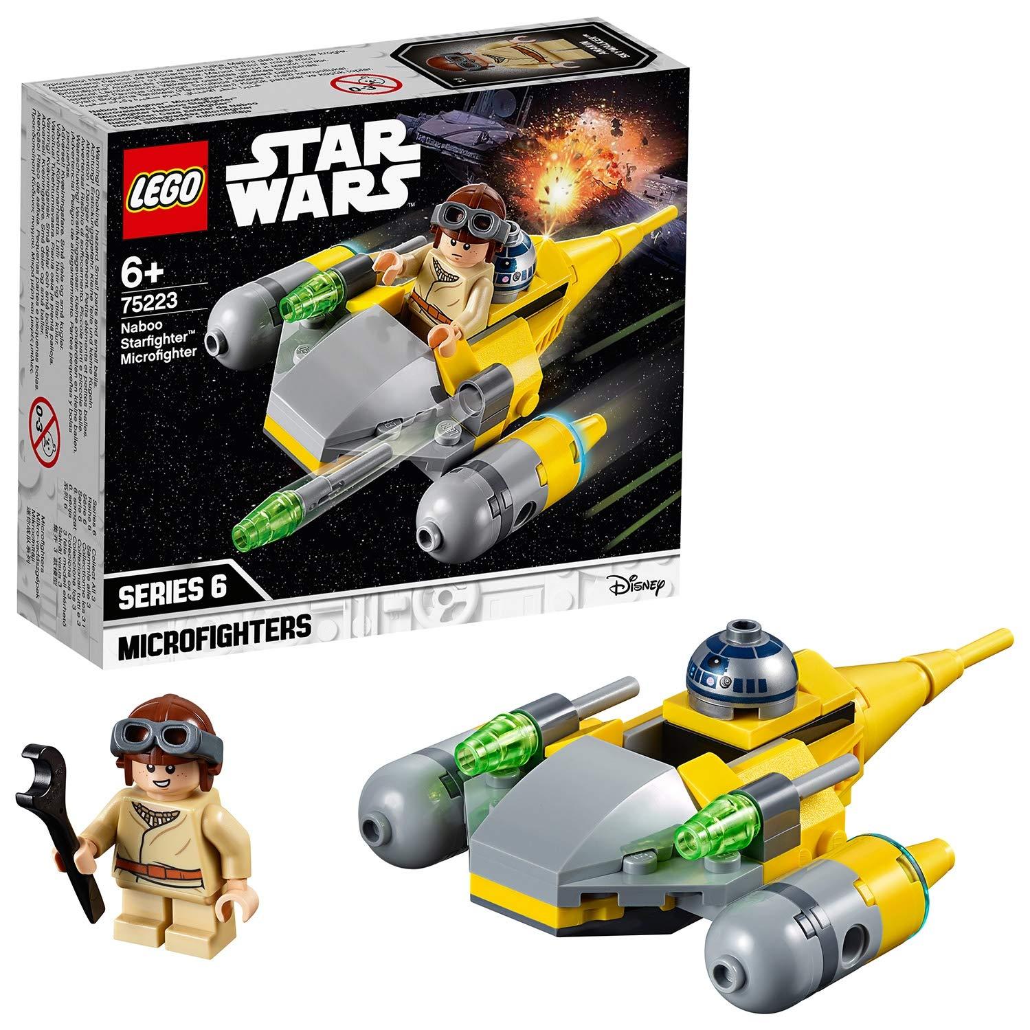 LEGO 75223 Star Wars Microfighters now £6.54 (Prime) + £4.49 (non Prime) at Amazon