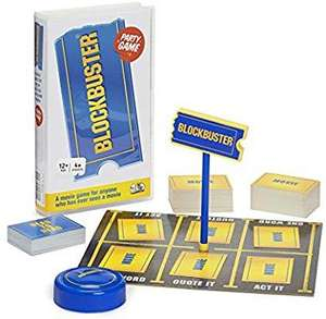 The Blockbuster Game: The Movie Board Game £13.50 (Prime) / £17.99 (non Prime) Sold by Big Potato and Fulfilled by Amazon.