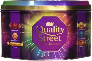 Exactly what it says on the 2kg Tin - Quality Street - £12 Delivered/1kg £6 @ Amazon