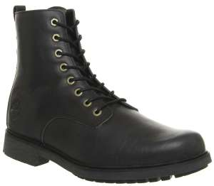 Timberland men's Lux black leather boots - Only sizes 7 & 8 in stock - £65 delivered @ Office Shoes
