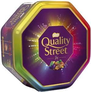 Quality Street Christmas Chocolate Toffee and Cremes Tin, 1 kg now £6.00 Amazon Prime / +£4.49 non Prime