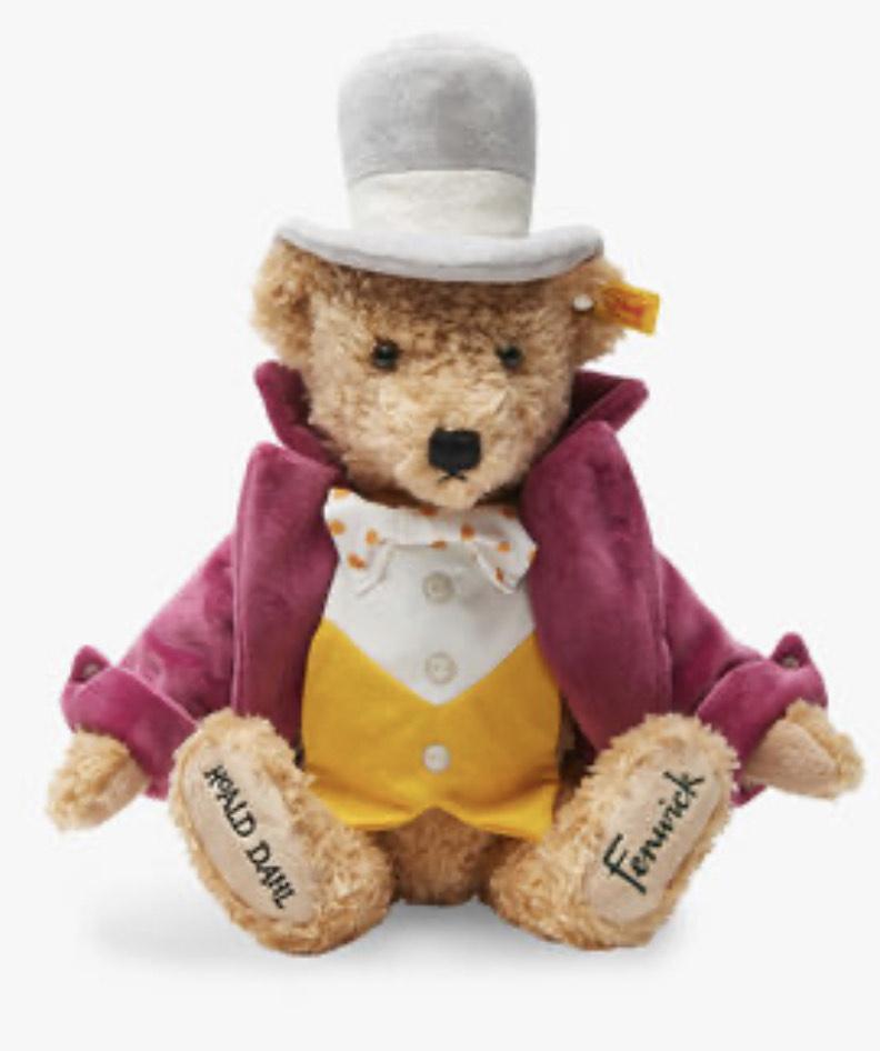 Willy Wonka 44cm Steiff Teddy Bear £42.50 delivered from Fenwick