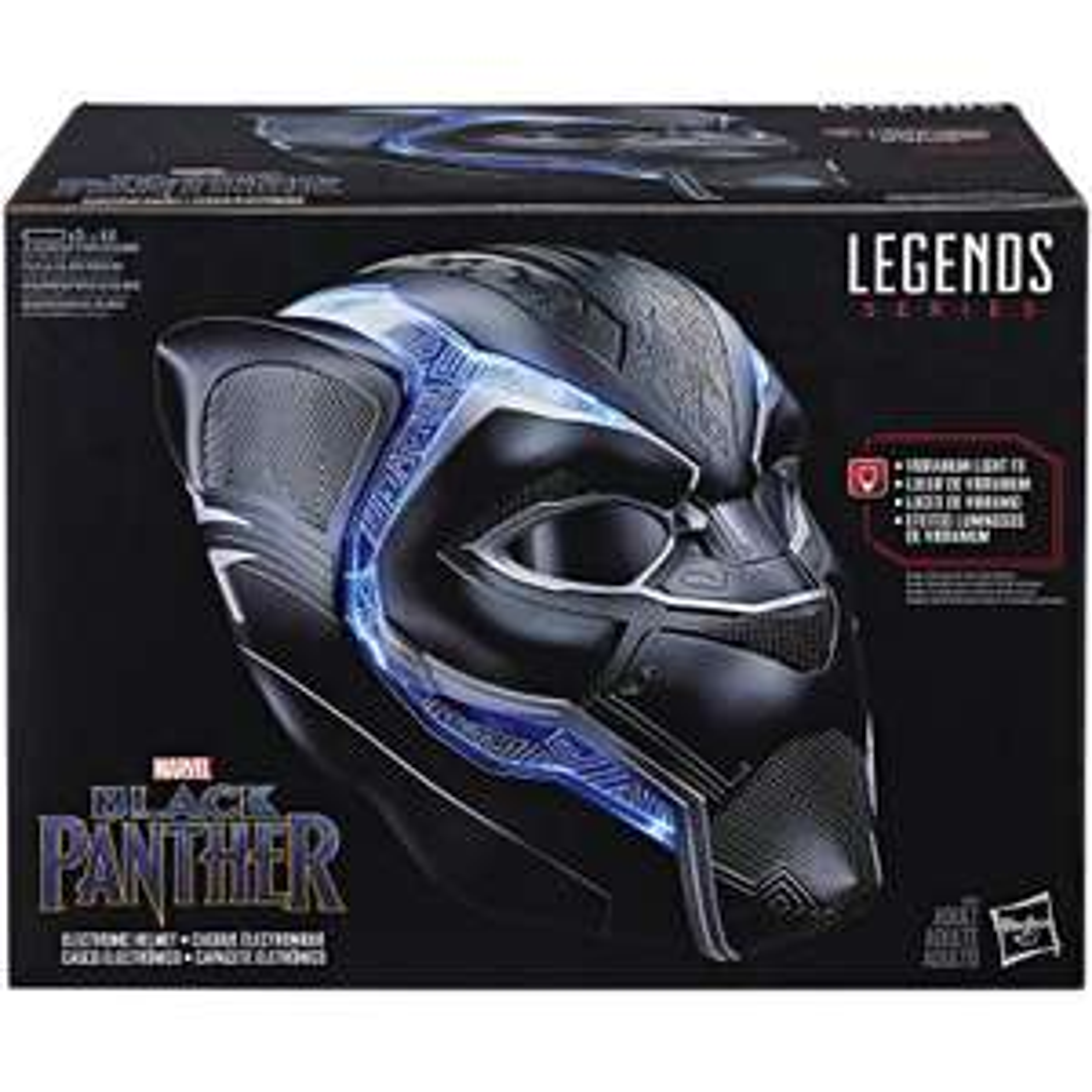 Hasbro Marvel Legends Series Black Panther electronic helmet - £34.99 @ Zavvi