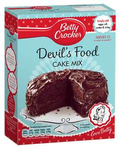 betty crocker x2 for £4 devils food cake (the best one!) and other flavours too @ Morrisons