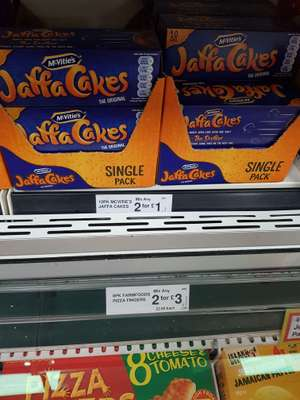 Mcvities Jaffa Cales 2 for £1 @ FramFoods - Pagemoss Liverpool