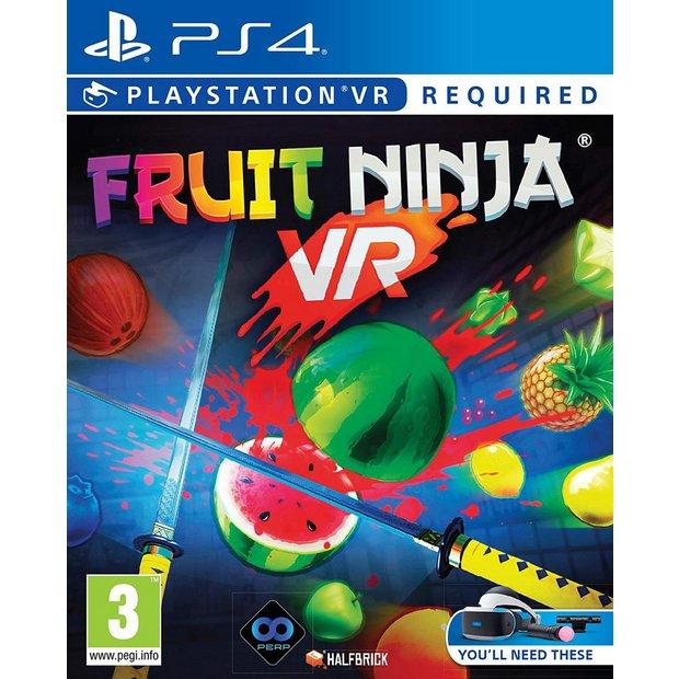 Fruit Ninja VR (PS4) for £7.99 Prime / +£4.49 non Prime @ Amazon