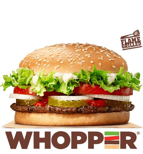 Free Burger King whopper via Burger King App