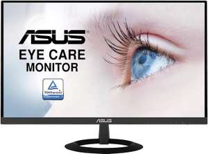 """ASUS VZ279HE 27"""" Inch Monitor, FHD IPS, Ultra-Slim Design, HDMI, D-Sub, Flicker Free - £124.97 delivered @ Amazon"""