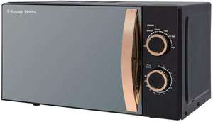 Russell Hobbs RHM1727RG Microwave, Steel, 700 W, 17 litres, Rose Gold for £40 delivered @ Amazon