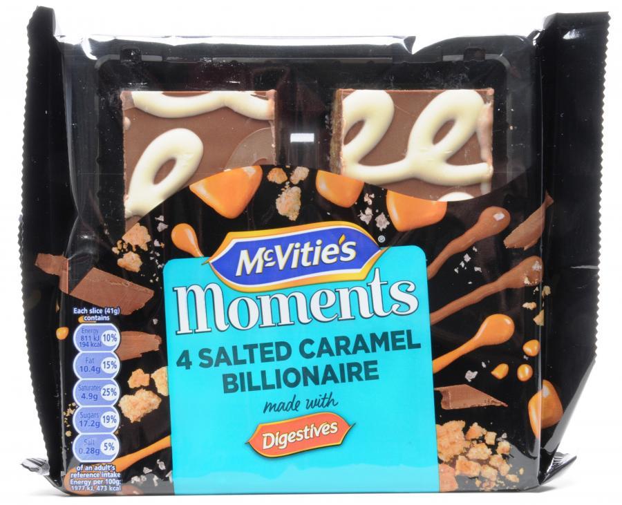 McVities Moments 4pk - 69p instore @ Heron Foods Hull