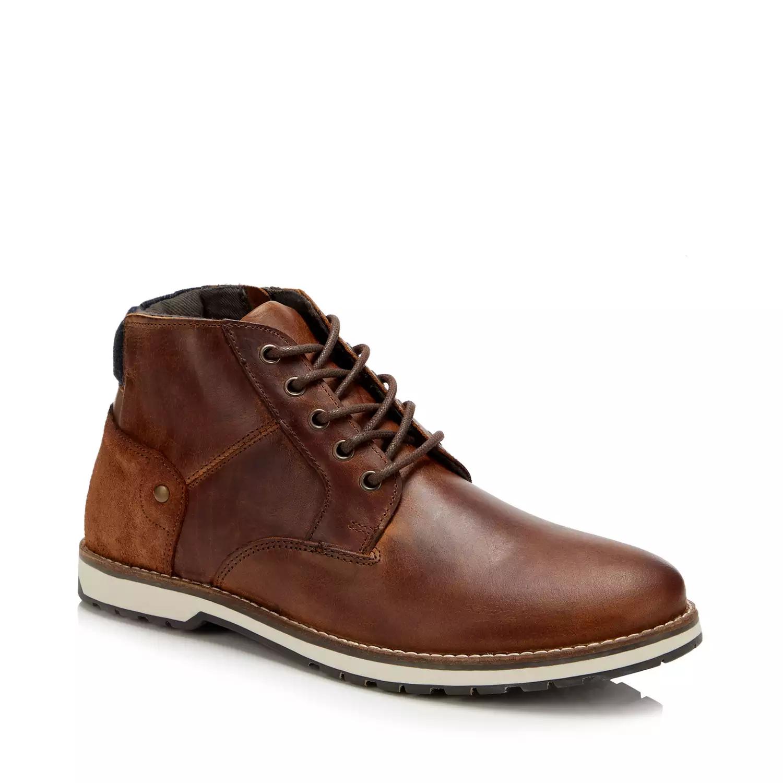 Mantaray - Tan Leather 'Winfell' Chukka Boots £40 @ Debenhams