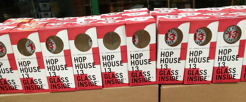 Hop House 13 Pint Glass 50p @ Morrisons - Cheadle Heath