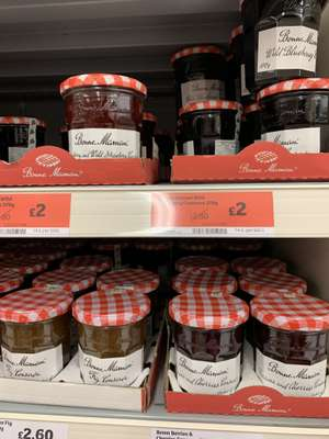 Bon Maman Conserves 370g, various flavours reduced to £2. In store and Online @ Sainsburys
