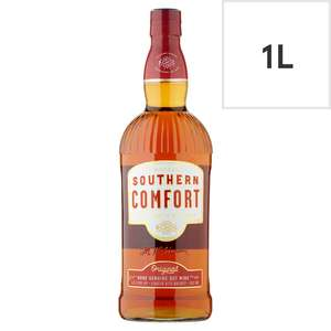 Southern Comfort 1L £18 at Tesco