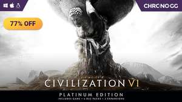 Civilization VI Platinum Collection (Game + All DLC) £21.47 @ Chrono
