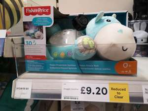 Fisher price snuggle soother Tesco carmarthen £9.20