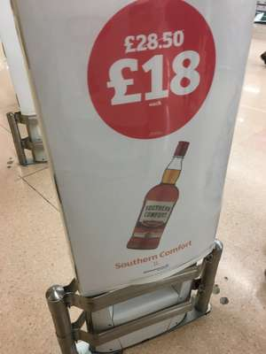 Southern comfort 1L £18 instore @ Sainsbury's