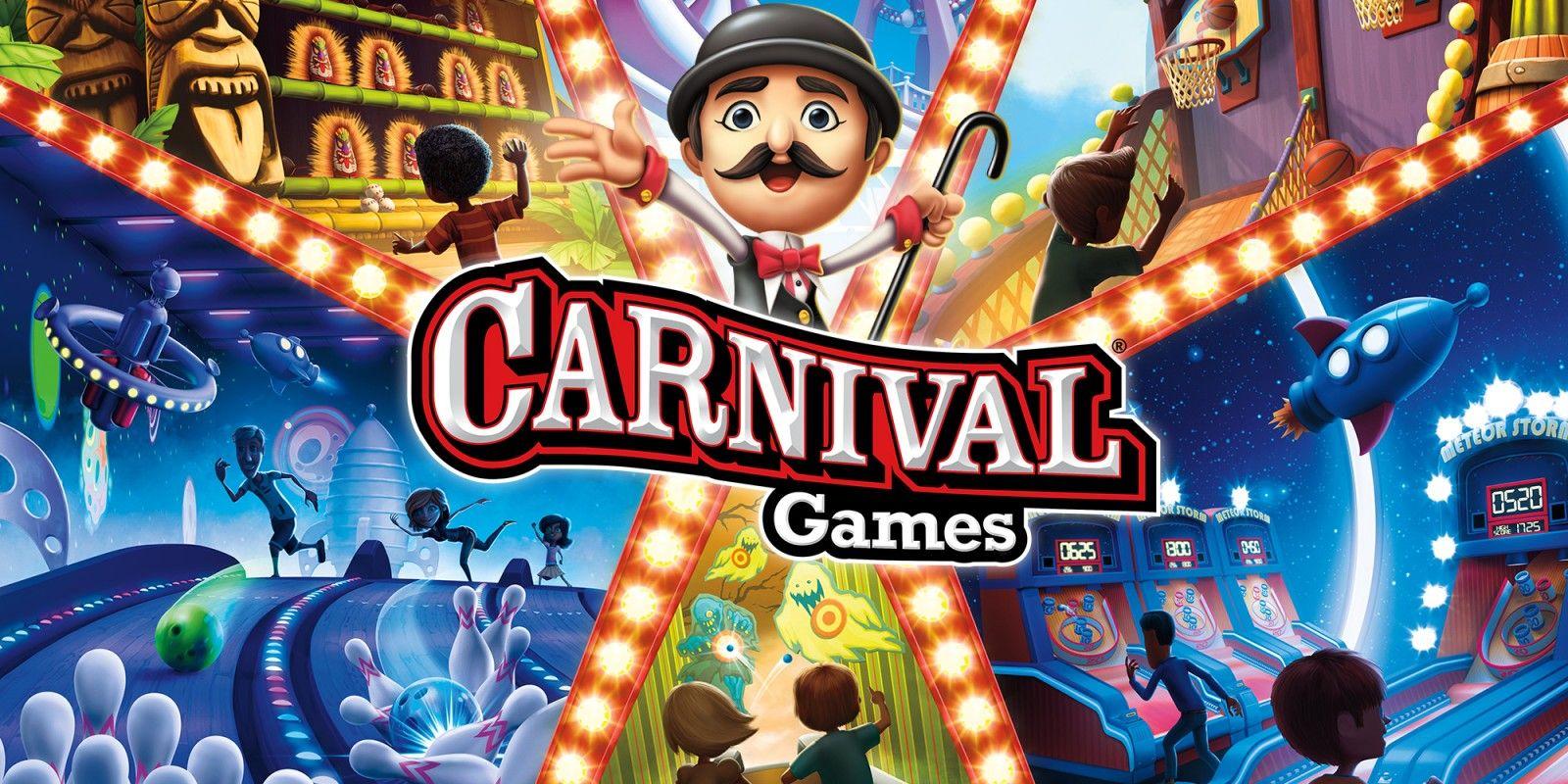 Carnival Games for Nintendo Switch (digital) £12.24 @ Nintendo eShop
