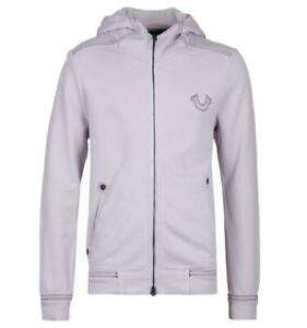 True Religion Moonrock Lilac Zip Front Hoodie (Size L & XL Only) £33.79 Delivered @ Brown Bag Outlet / eBay