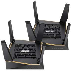 ASUS RT-AX92U AX6100 WIFI 6 Tri-Band Mesh Router Twin pack - £247.99 Amazon