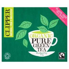 Clipper green tea 480 teabags 6 x 80 in a pack - £14.79 @ Amazon Prime (+£4.49 non-Prime)