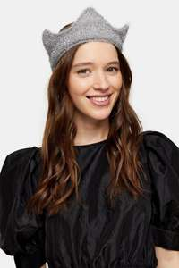 Silver tinsel crown @ Topshop - £3.00 with free next day delivery