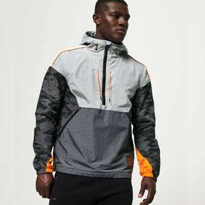 Superdry Jared Overhead Cagoule in Grey or Black Camo now £35.99 delivered with code @ eBay / Superdry outlet