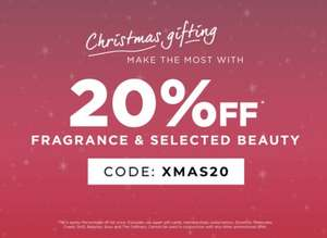 The Fragrance Shop 20% off Fragrance & Selected Beauty